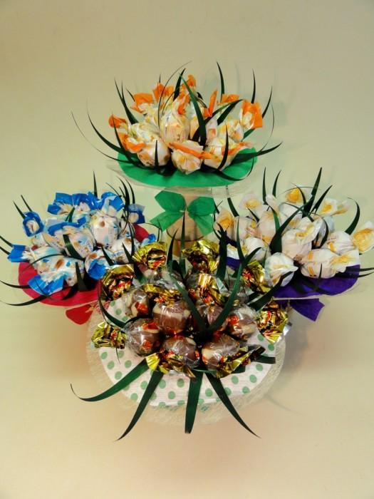 Čokoládové dárky > dárková kytice čokoládová
